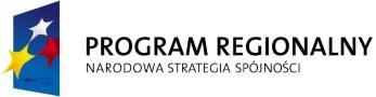 Logo Programu Unijnego Program regionalny