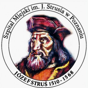 logo Szpitala przedstawiające Józefa Strusia - patrona szpitala