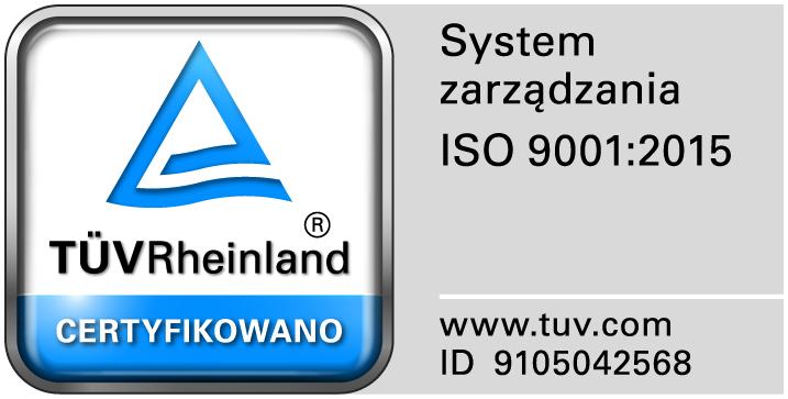 Logo Certyfikatu ISO 2018