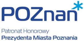 Logo Patronat honorowy Prezydenta Miasta Poznania