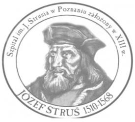 Logo szpitala im. Józefa Strusia w Poznaniu