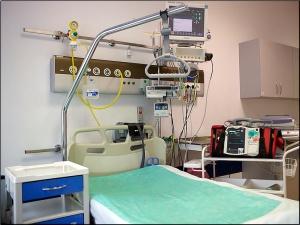 Sala chorych Oddziału Kardiologicznego
