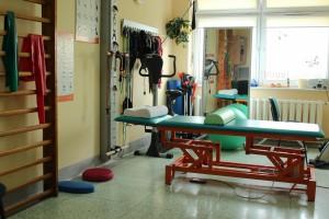 Sala rehabilitacyjna Oddziału Neurologii